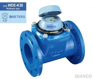 Contor apa rece cu flansa BMeters WDE-K tip Woltman cl.B DN 100