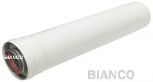 Prelungitor coaxial universal pentru centrale termice - 0,5 m