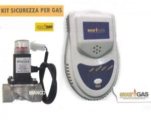 Detector de gaze cu electrovana SicurGAS 3/4