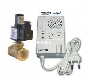 Detector de gaz si monoxid cu electrovana 3/4 Primatech