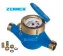 Contor de apa rece Cls. C cu mecanism umed Zenner DN 20-3/4