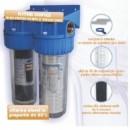 Set filtru cu cartus lavabil 10x1 + filtru cu carbune activ 10x1