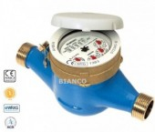 Contor apa rece BMeters GMDM cu cadran USCAT cl.B DN 20-3/4