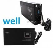 Stabilizator de tensiune SLIM cu releu 1000VA-600W  pentru centrala termica